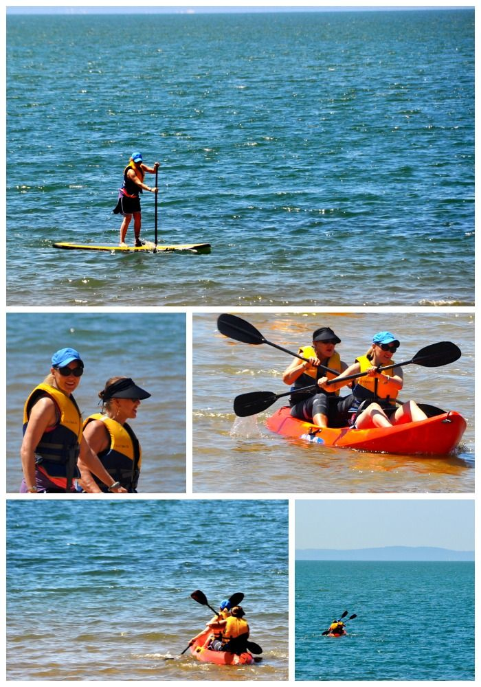 Paddle Boarding in Redcliffe, Queensland