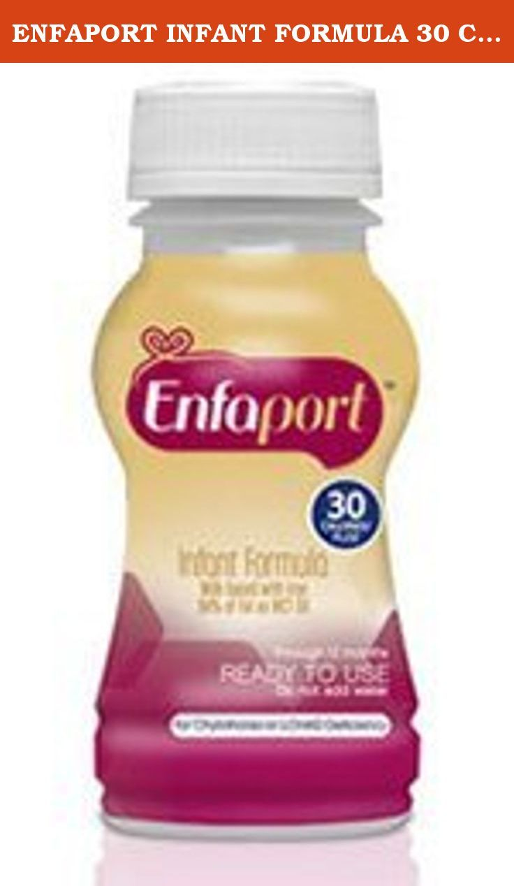 ENFAPORT INFANT FORMULA 30 CAL/OZ 6oz BOTTLE READY TO USE (TILL 12 MTHS) (BOX OF 6 BOTTLE). You are buying Enfamil Enfaport Lipil Ready To Use Infant Formula 6oz Pack of 24, Model #129601EA. ADW Diabetes offers a complete line of Enfamil baby formula products both in liquid and powder form. We offer these items in both single and discounted bulk quantities for your convenience.Shop with ADW Diabetes as we provide excellent customer service, low prices, and fast shipping!.
