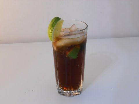 Drink Cuba Libre - Drinkologia - przepisy na drinki, koktajle, nalewki, shoty
