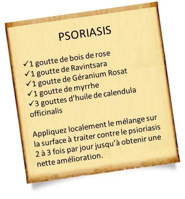 Les secrets de l'huile essentielle de Géranium rosat - psoriasis