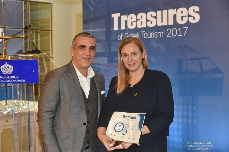 Electra Hotels Recognized as 'Treasure of Greek Tourism' for 2017