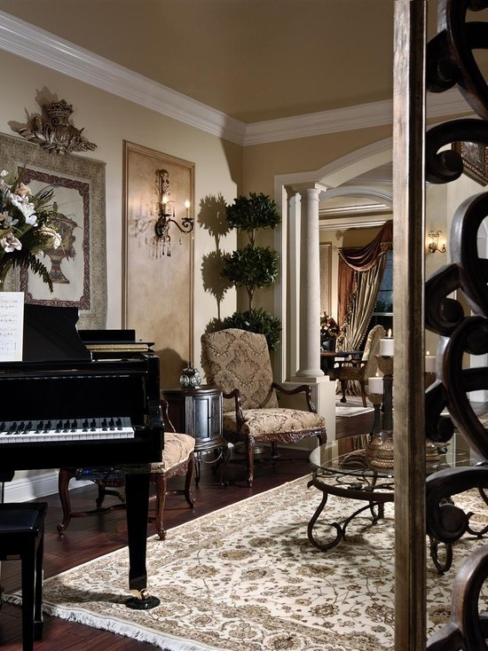 Elegant Living Room Living Rooms And Traditional Styles On Pinterest