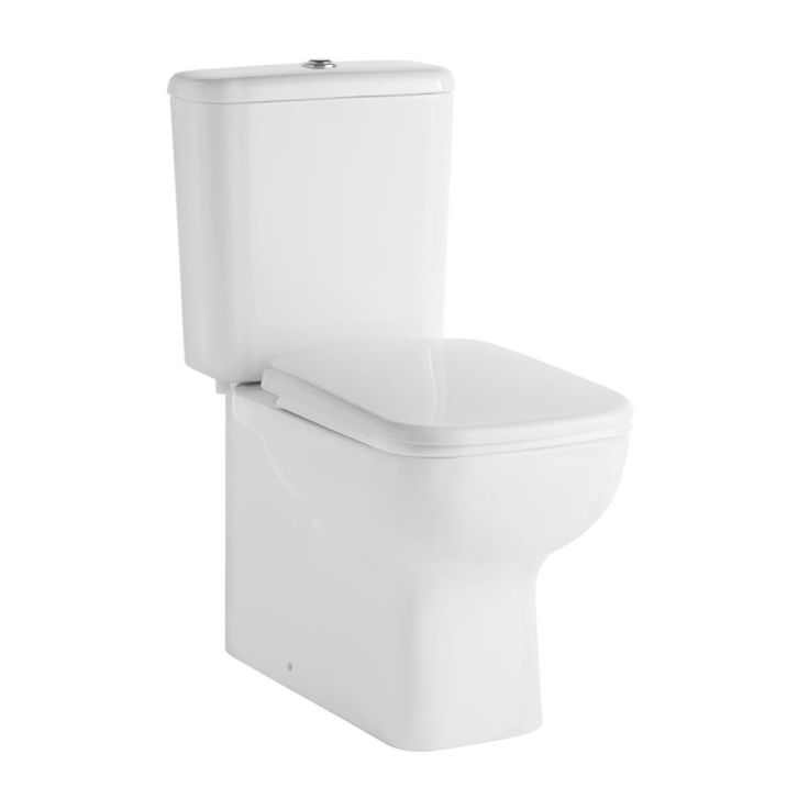 Mona Close Coupled Toilet inc soft close seat primary image