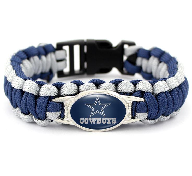 Dallas Cowboys Paracord Survival Bracelet