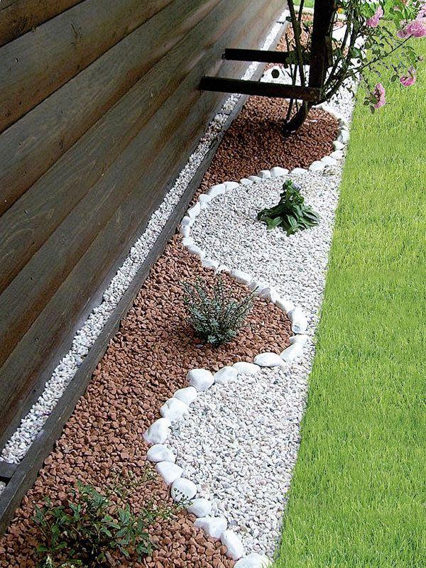 Las 25 mejores ideas sobre jard n con piedras en pinterest - Jardin piedras blancas ...