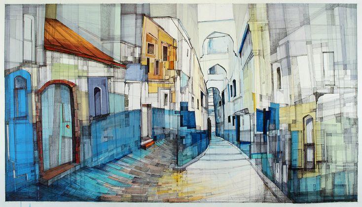 "010 ""Kasbah"" - 2015, автор Megan McGlynn, конкурс ""архитектурная фантазия / architectural fantasy"" | Конкурсы Archplatforma.ru"