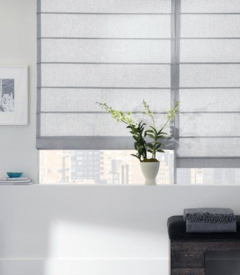 sheer roman shades 2015 - Grasscloth Wallpaper