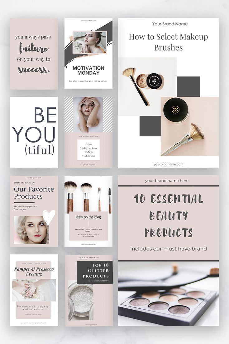 Pinterest Templates For Entrepreneurs Canva Templates Blush Pink Feminine Pinterest Pinterest Pins Pin Design Social Media Templates In 2020 Pinterest Templates Blog Post Graphics Templates
