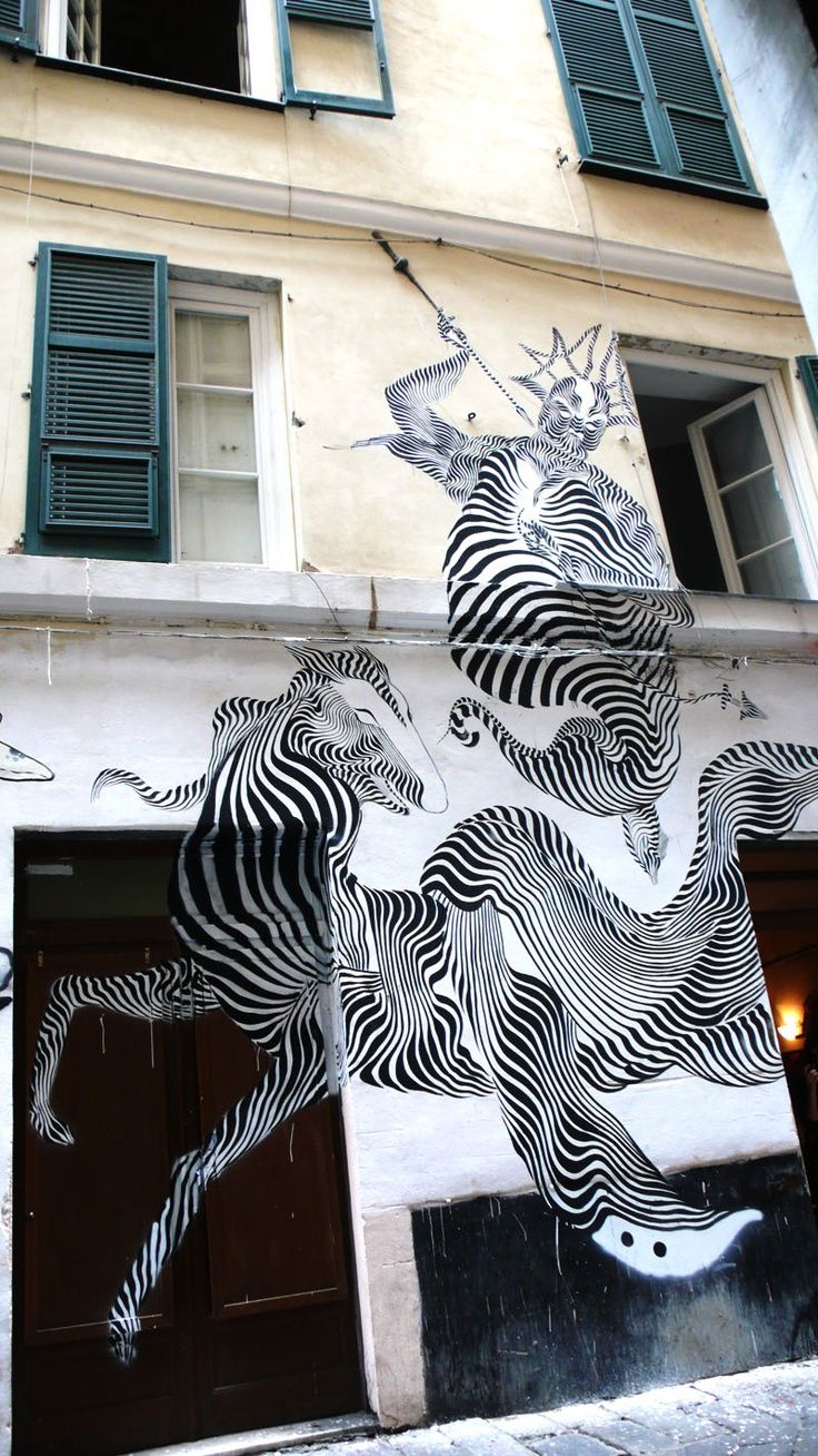 Unusual Street Art // Unique Murals from Around the World #streetart #uniquem…