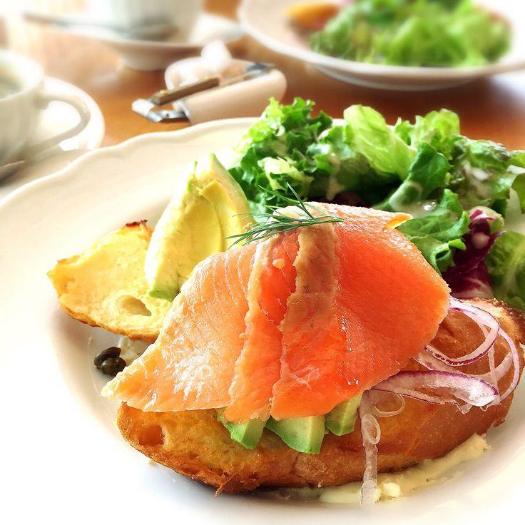 Salmon French toast