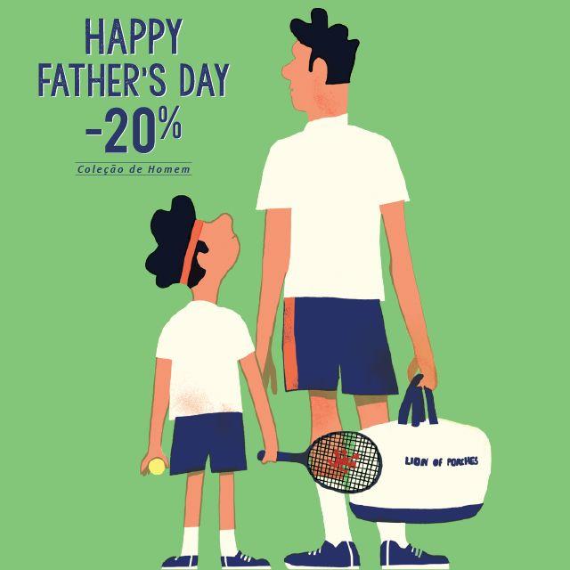 Happy Father's Day with Lion of Porches Aproveite -20% em Toda a Coleção de Homem Primavera Verão #puregame #newcollection www.lionofporches.com