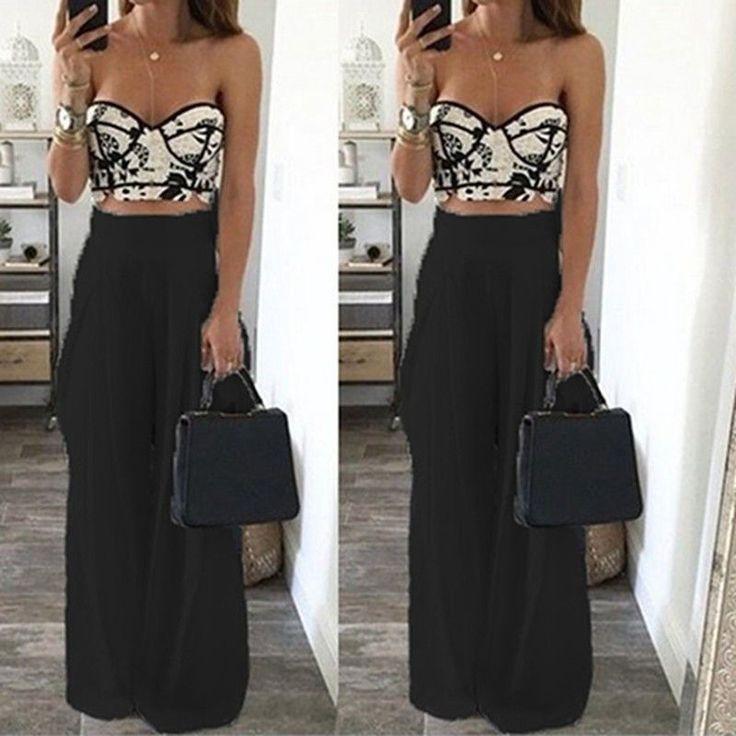Summer Women Casual Harem Pants High Waist Sport Pants Female Wide Leg Loose Chiffon Long Bloomers Trousers Black White