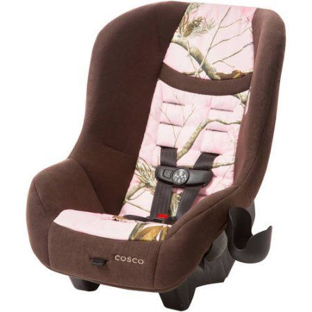 """Cosco Scenera NEXT Convertible Car Seat, Reeltree Pink, Fits 3 across in the back seat of most vehicles. Fits 3 across in the back seat of most vehicles Rear-facing 5-40 lbs (19"""" to 40""""). Forward-facing 22-40 lbs (29"""" to 43"""") and at least 2 years old Side Impact Protection. 5-point harness with easy front adjustment 5 harness heights and 3 buckle locations allow for the best fit for growing children. Seat pad is machine washable and dryer safe Removable cup holder is dishwasher safe..."""