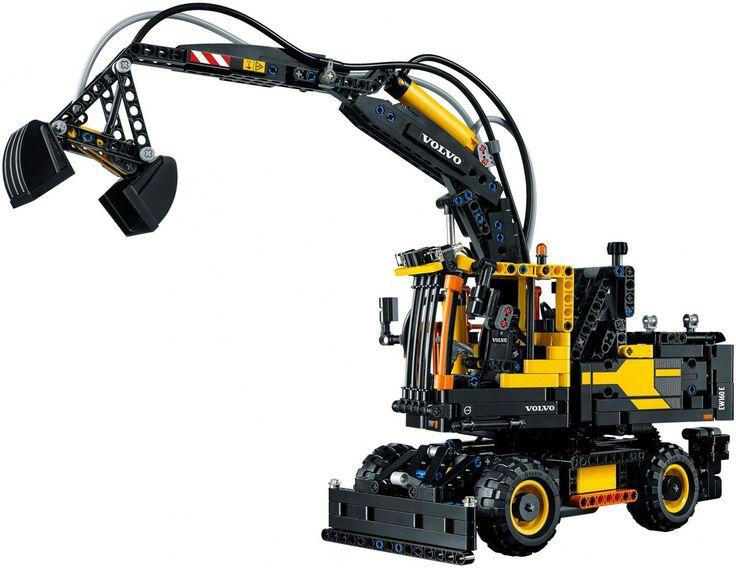 LEGO TECHNIC Volvo EW 160E 42053 - De leukste LEGO bestel je online op https://www.olgo.nl