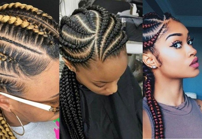 10 Ghana Weaving Hairstyles All Back Styles Bound To Make You The Centre Of Attention Exclus Hair Styles Braids Hairstyles Pictures Big Twist Braids Hairstyles