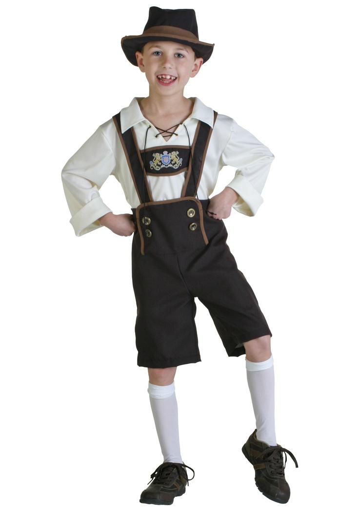 Lederhosen Boy Costume