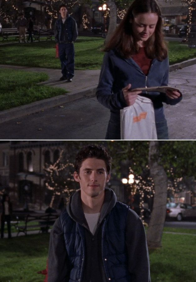 Which was followed by these telling and ~dreamy~ looks: | 23 Rory And Jess Moments That Will Always Make Your Heart Melt