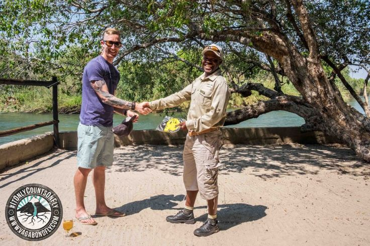 Being awarded the yellow buff for reeling a #Tigerfish over 10lbs.