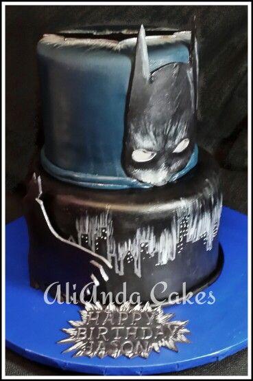 Best Cakes Images On Pinterest Batman Cakes Birthday Party - Dark knight birthday cake