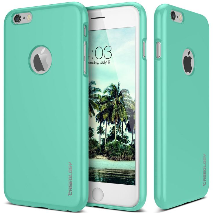 Caseology® iPhone 6 case [Daybreak Series] [Turquoise Mint]