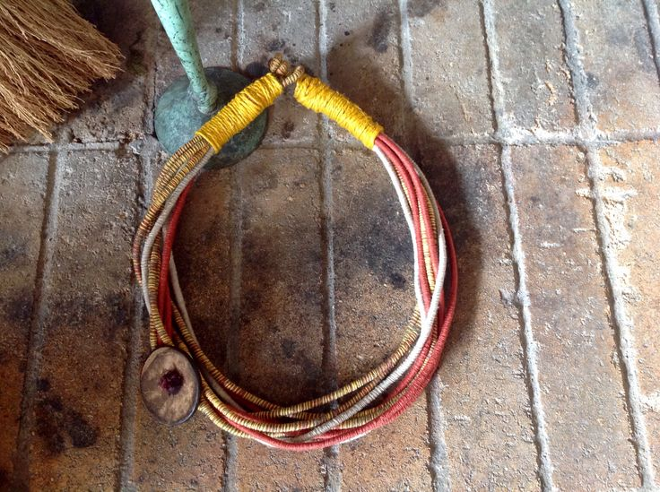 fiber necklace by vivi markoni