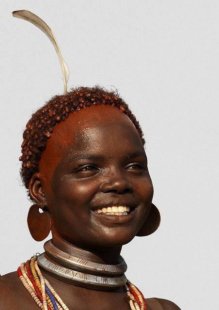 Hamar smile Ethiopia by Eric Lafforgue, via Flickr