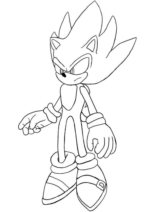 Dibujos De Sonic Para Colorear Sonic Para Colorear Dibujos Para