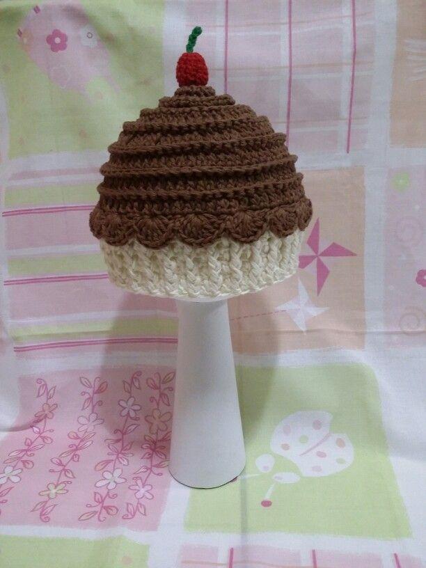 Touca Cupcake de chocolate