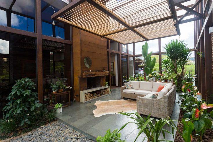 Invernadero, en casa MS, Colombia