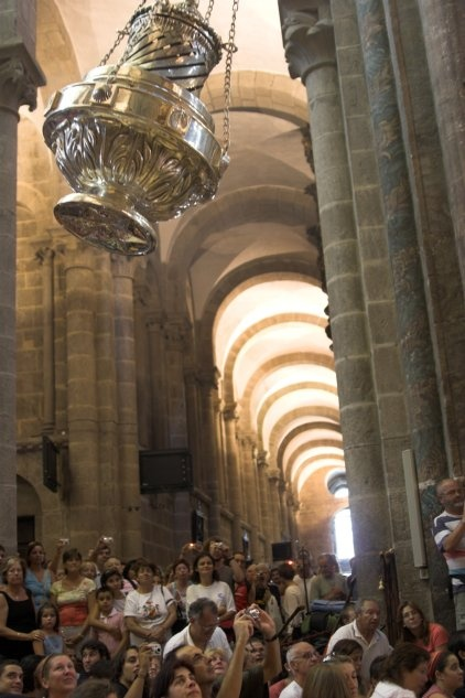 Pilgrims Mass at the end of your journey on The Camino.