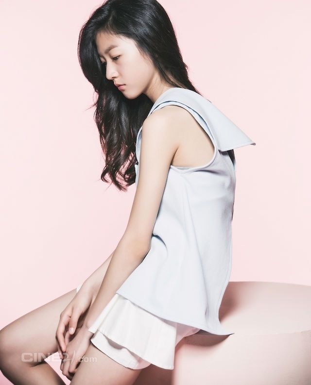 Kim Sae Ron for Cine21 magazine No. 953
