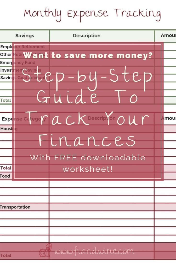 Are You Ready To Save More Money And Reach Your Financial Goals Download This Monthly Expense Tracking Fo Budgeting Finances Budgeting Money Money Management
