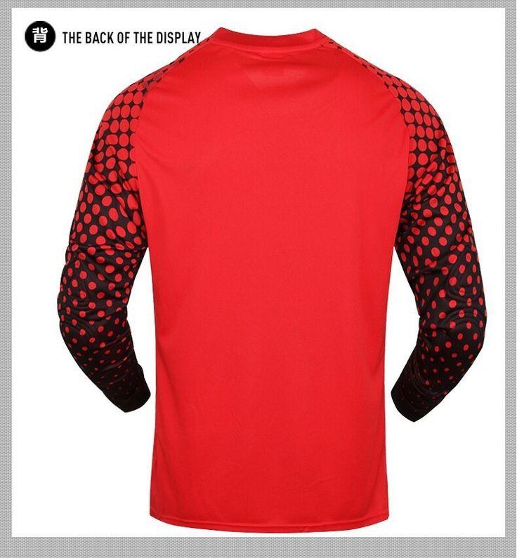2016 Men's Soccer Goalkeeper Jersey Sponge Protector Suit Camisetas De Futbol Jersey Kids Goal Keeper Uniforms Long Sleeve Suit | #FootballJerseys #Men #FootballJersey #Kids #Shirt #Uniforms #TrainingSuits #TrainingPants #Shorts #Hoodie #Jacket
