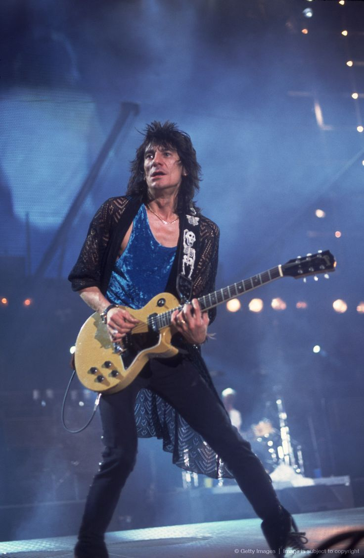 Ronnie Wood - The Rolling Stones, Faces, Rod Stewart, the Birds, the Creation, the Jeff Beck Group, Eric Clapton, the New Barbarians