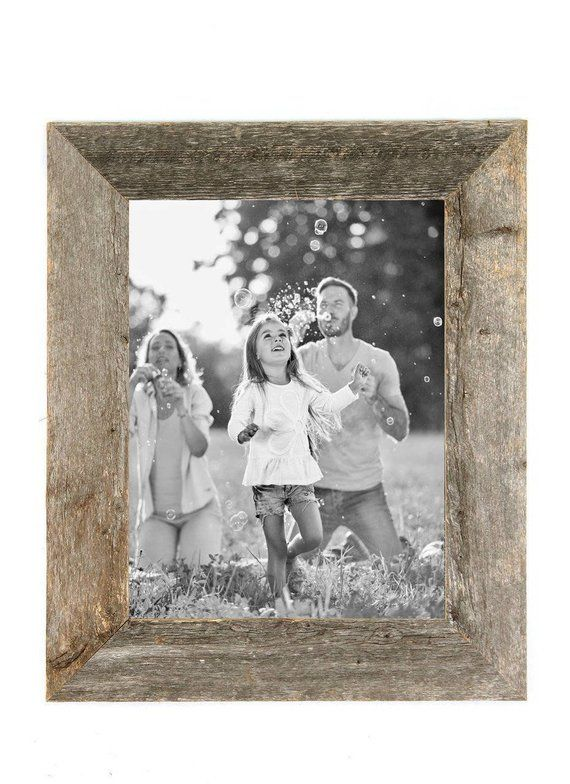 Rustic Wood Picture Frame Barnwood Picture Frame Reclaimed Etsy Wood Picture Frames Reclaimed Wood Frames Barn Wood Picture Frames