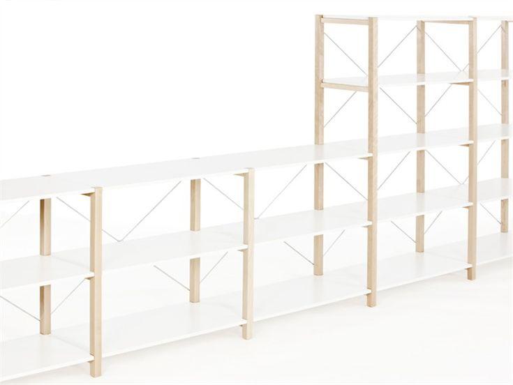 Open sectional modular shelving unit SHELVING SYSTEM by Artek   design Naoto Fukasawa