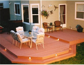 Decking / Balcony / Paving Areas   outdoor living area