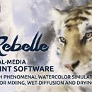 Rebelle Real-Media Watercolor and Acrylic Paint Software - only $29!