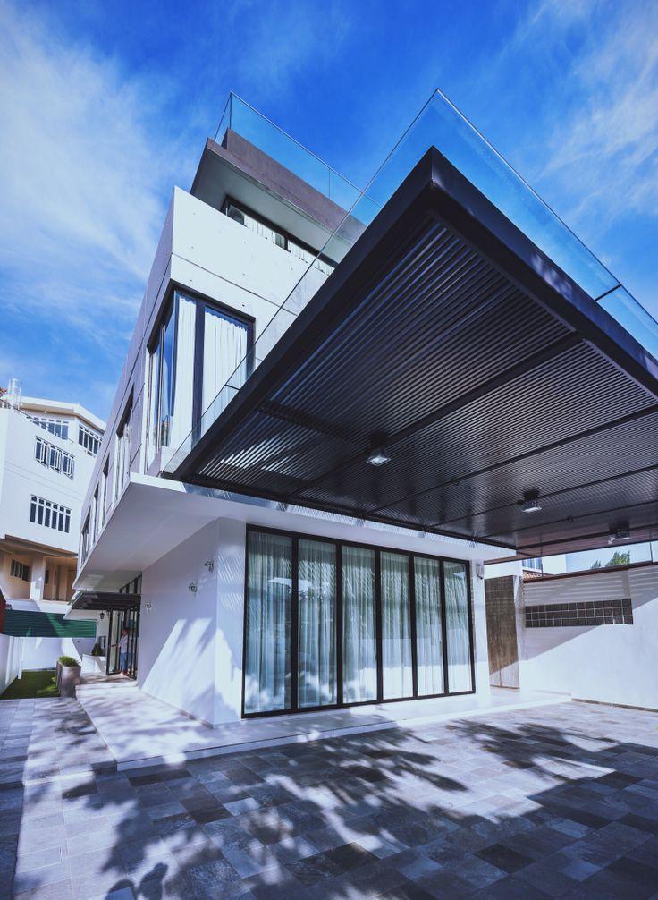 Unconventional loft - when modern meet raw