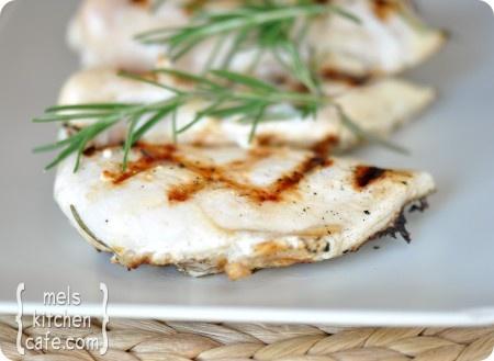 grilled rosemary buttermilk chicken- buttermilk marinated chicken is ...
