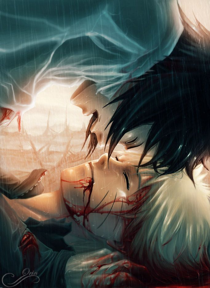 Even though I'm not a huge fan of Sasuke I love the depth of emotion that is portrayed through this picture. Great work :D It'd be awful if this happened though I'd cry if Naruto died :( :(