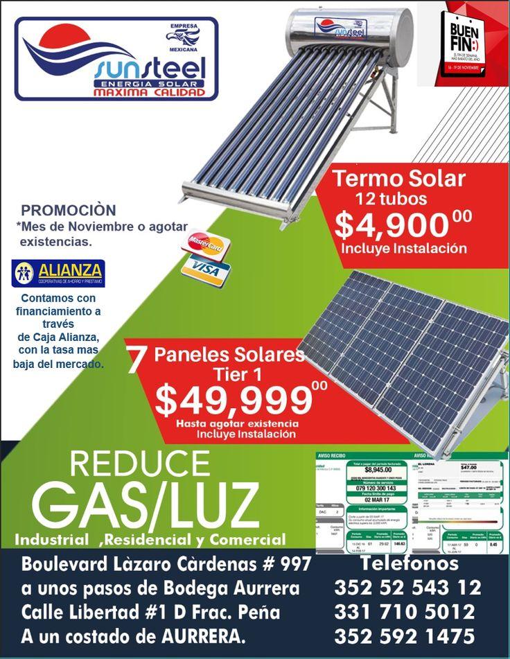 PROMOCIONES DEL BUEN FIN. Sistema de energía solar