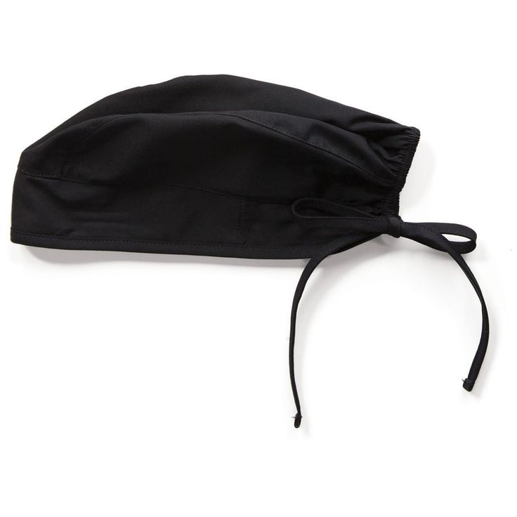 Cherokee Workwear Unisex Black Scrub Hat