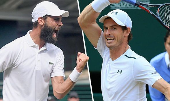 Andy Murray v Benoit Paire LIVE at Wimbledon 2017: Latest updates and scores from SW19