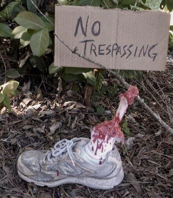 52 best walking dead party images on Pinterest Zombie apocolypse - diy outdoor halloween props