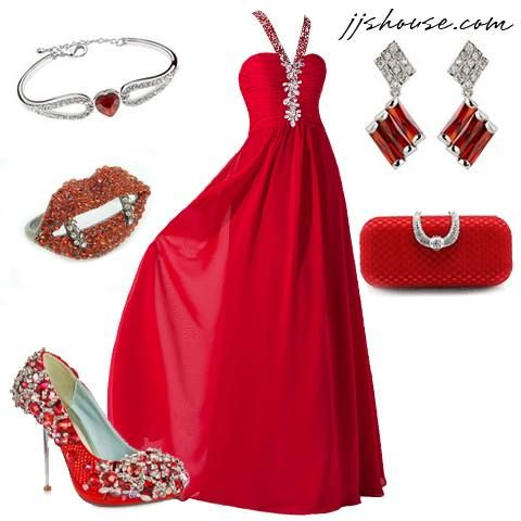 Red, my favorite color!