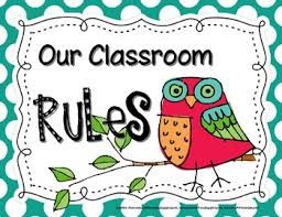 Image result for classroom rules for primary school