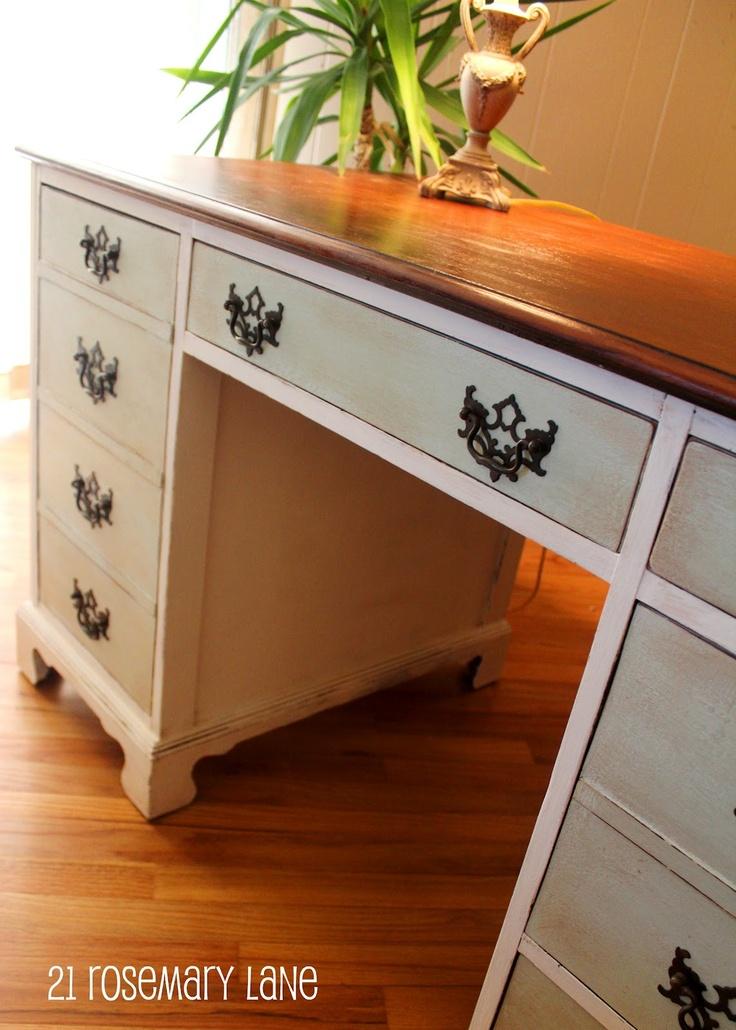 44 best Flippin Desks images on Pinterest Painted furniture