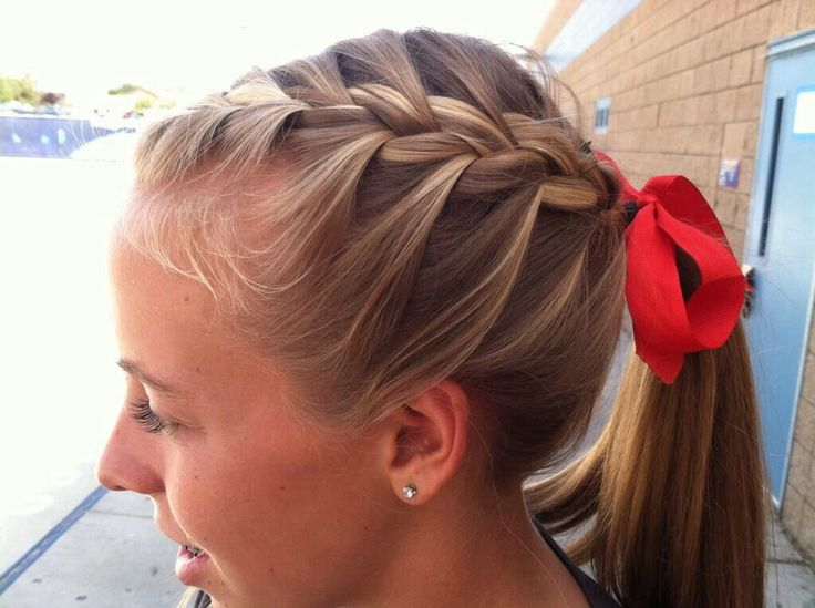 Cross Country/ Track hairstyle