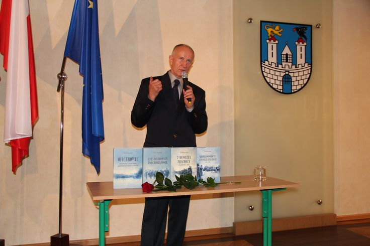 Promocja książki mojego przyjaciela Lecha Mastalskiego pt.:Kadra Dowódcza 7 Dywizji Piechoty.Ratusz-Częstochowa.